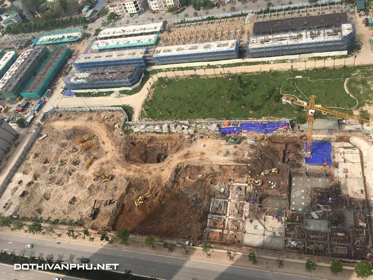 tiến độ chung cư The K Park Văn Phú