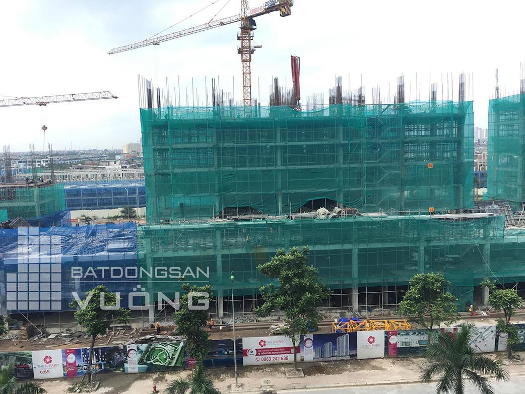 Tiến độ chung cư The K Park Văn Phú toà K12