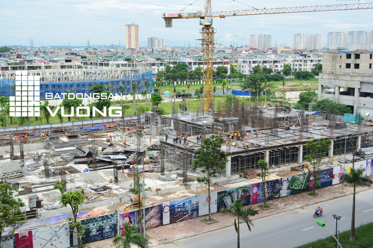 Tiến độ thi công chung cư The K Park Văn Phú