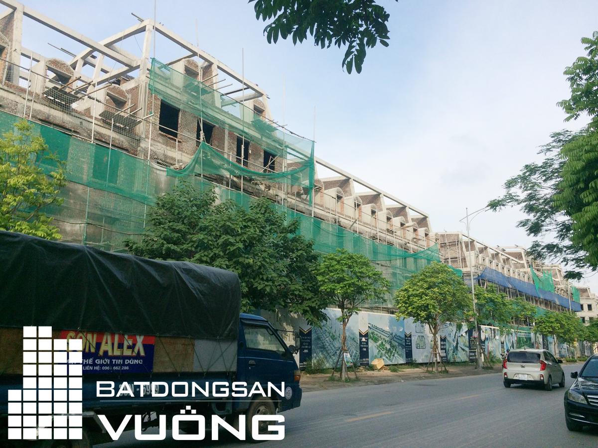 Tiến độ thi công liền kề La Casta Văn Phú - lô HTT-2