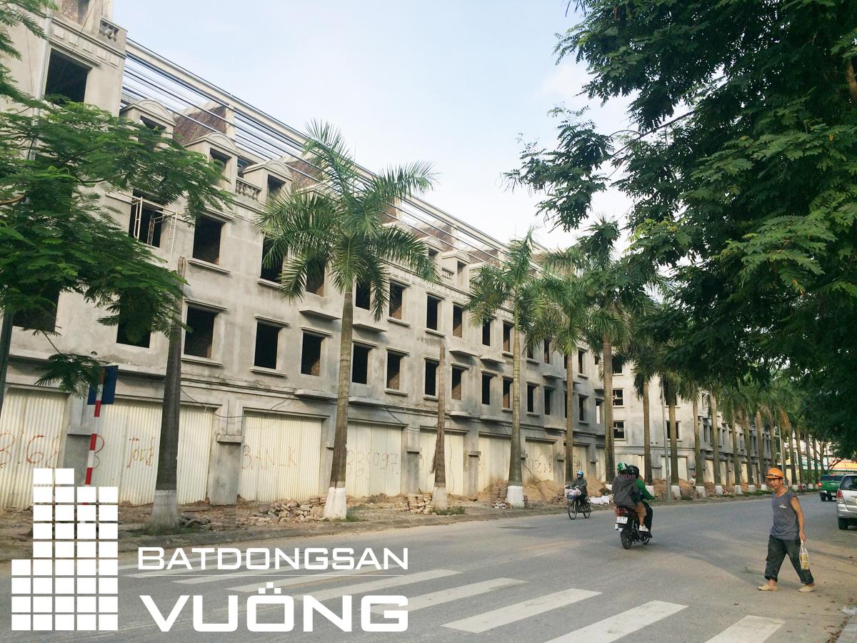 Tiến độ thi công liền kề La Casta Văn Phú - lô HTT-3