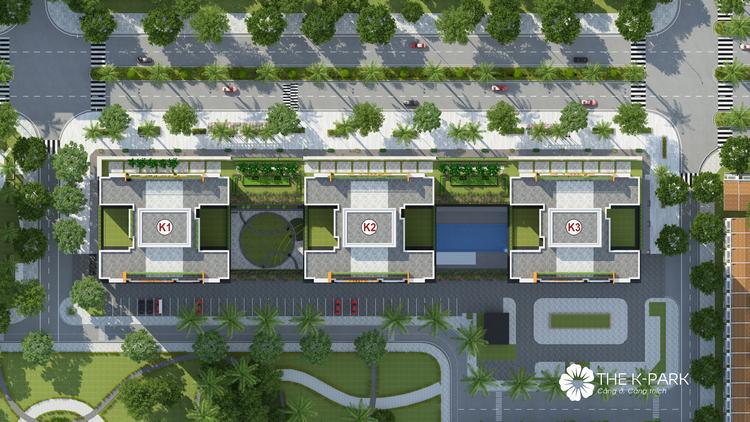 Thiết kế mặt bằng dự án chung cư The K Park
