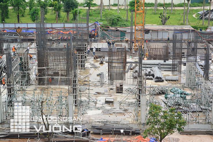 Tiến độ thi công tòa K1 chung cư The K Park Văn Phú