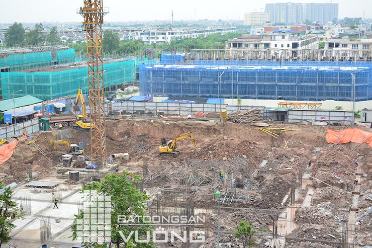 Tiến độ thi công tòa K3 chung cư The K Park Văn Phú