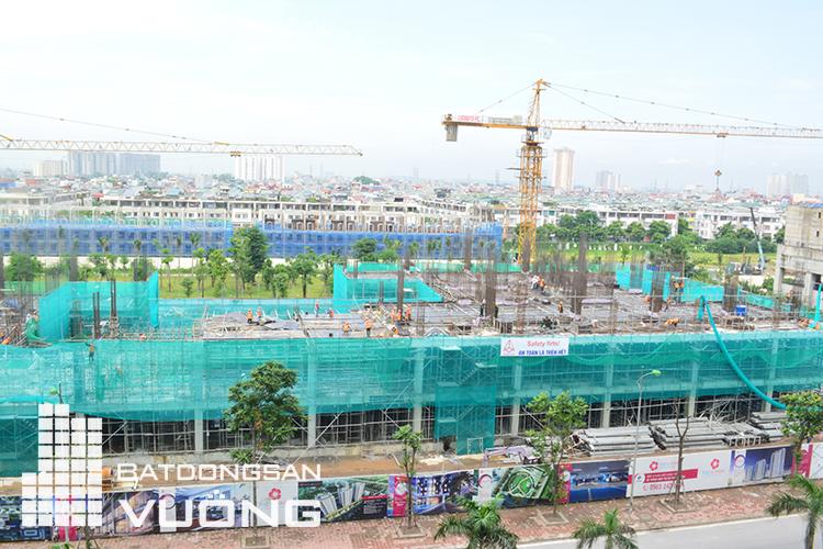 Tiến độ tòa K1 dự án chung cư The K Park Văn Phú ngày 01/08/2017
