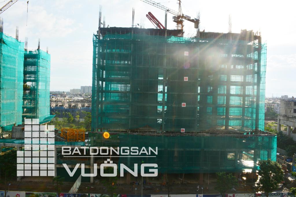 Tiến độ thi công tòa K1 chung cư The K Park Văn Phú Hà Đông