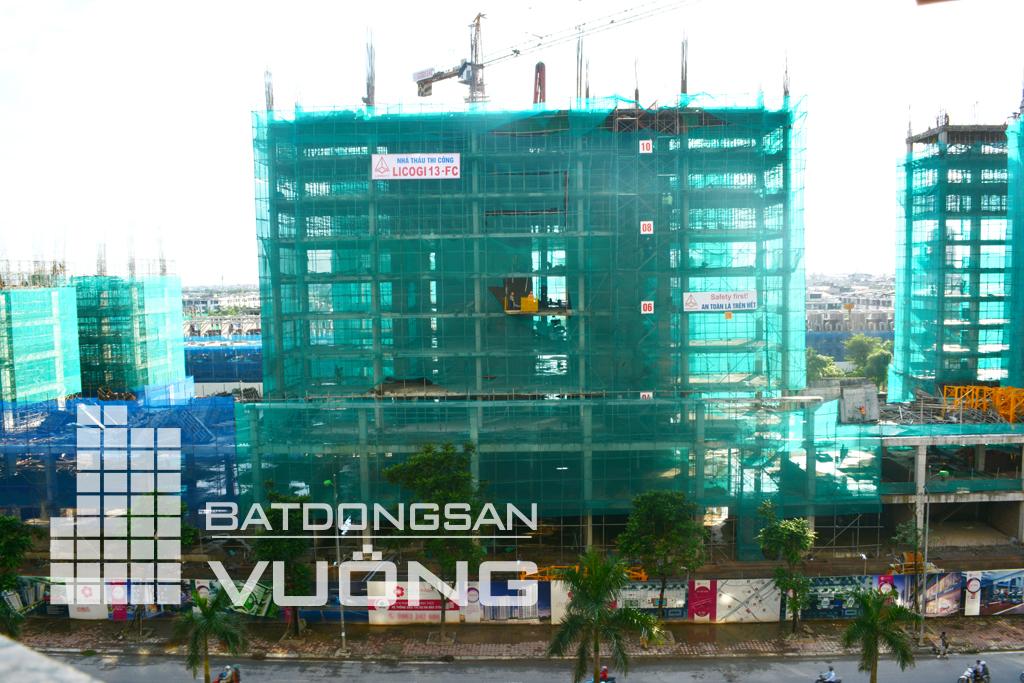 Tiến độ thi công tòa K2 chung cư The K Park Văn Phú Hà Đông