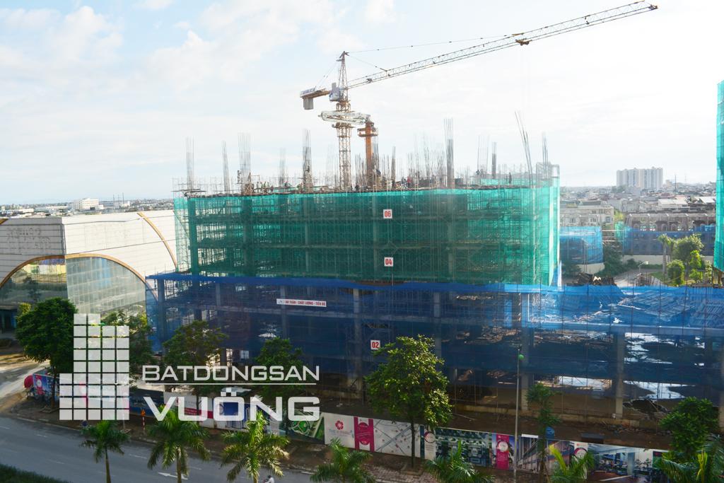 Tiến độ thi công tòa K3 chung cư The K Park Văn Phú Hà Đông