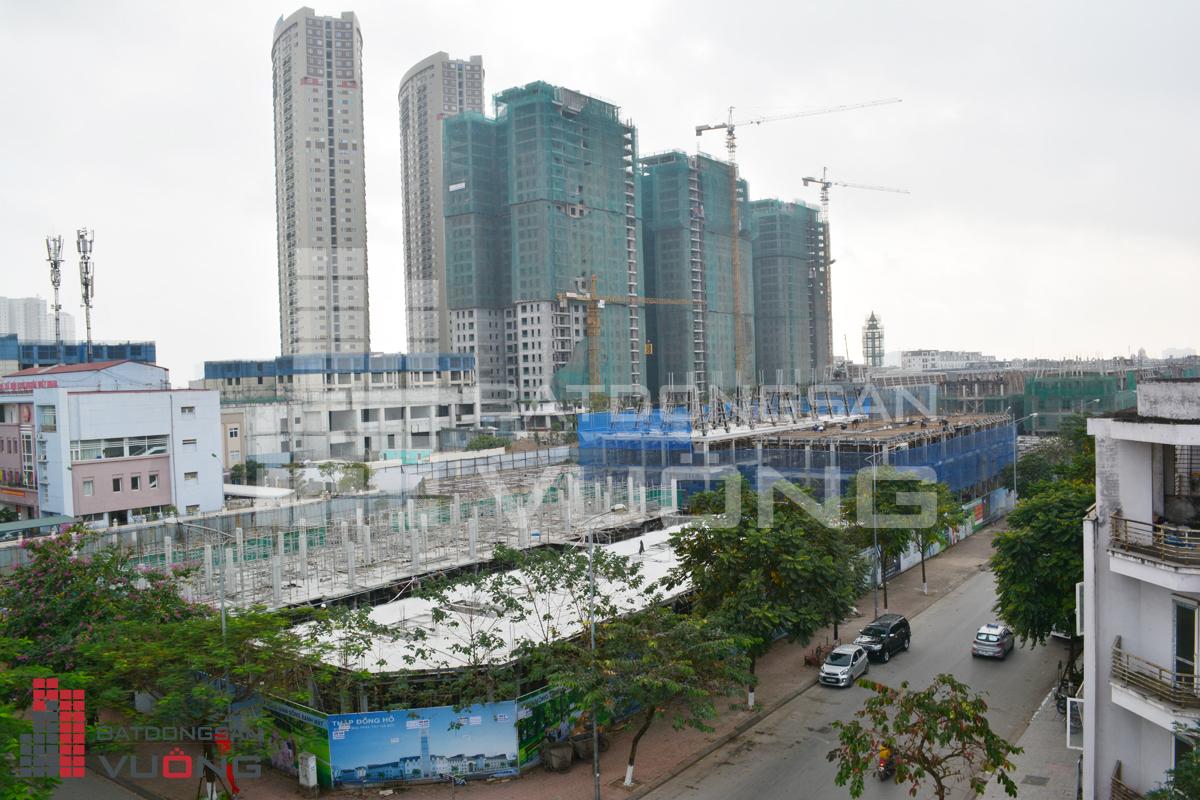 3 tòa chung cư The K Park nhìn từ 18 lô TT26 Văn Phú