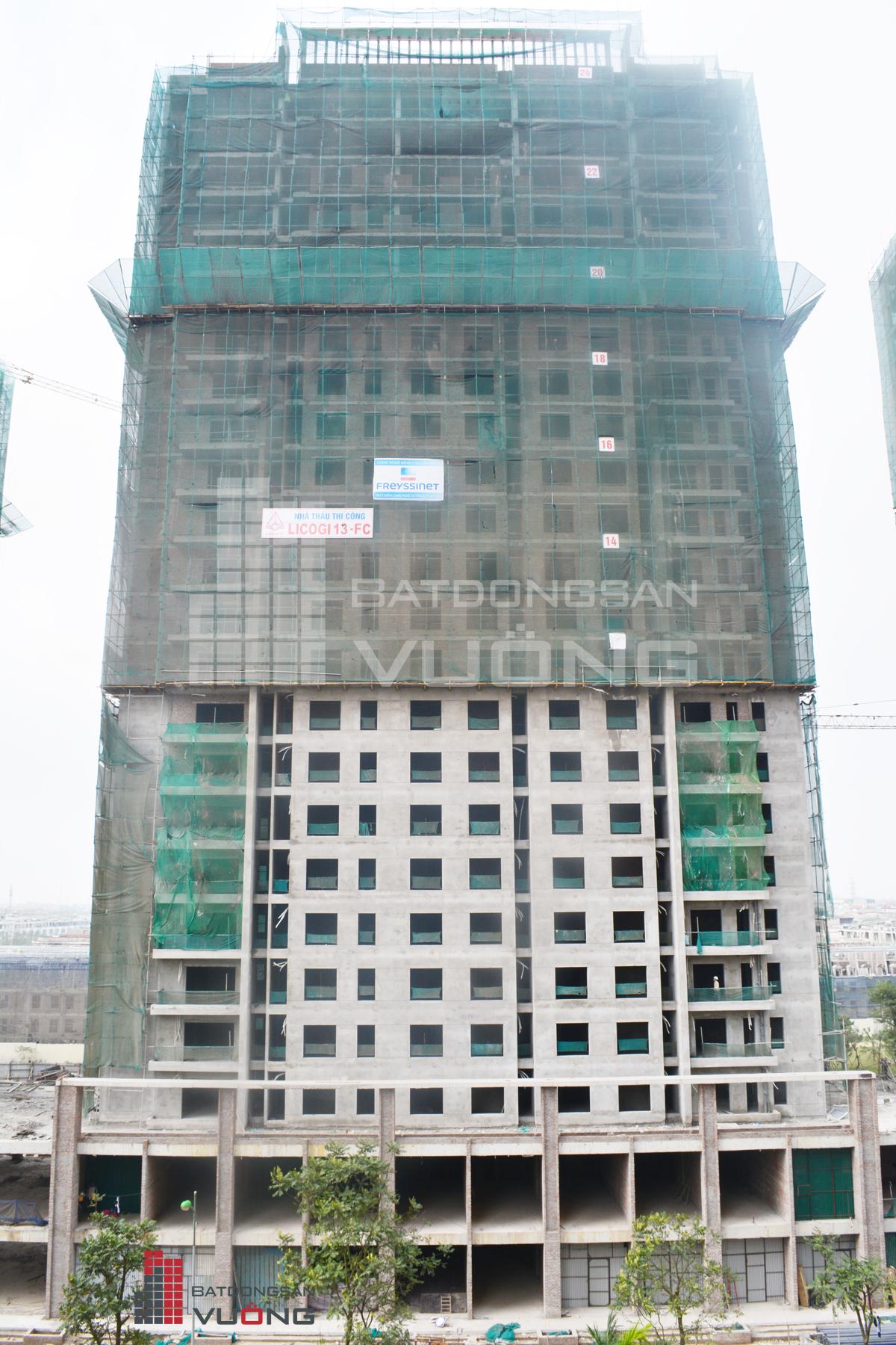 Tòa K2 chung cư The K Park Văn Phú Hà Đông