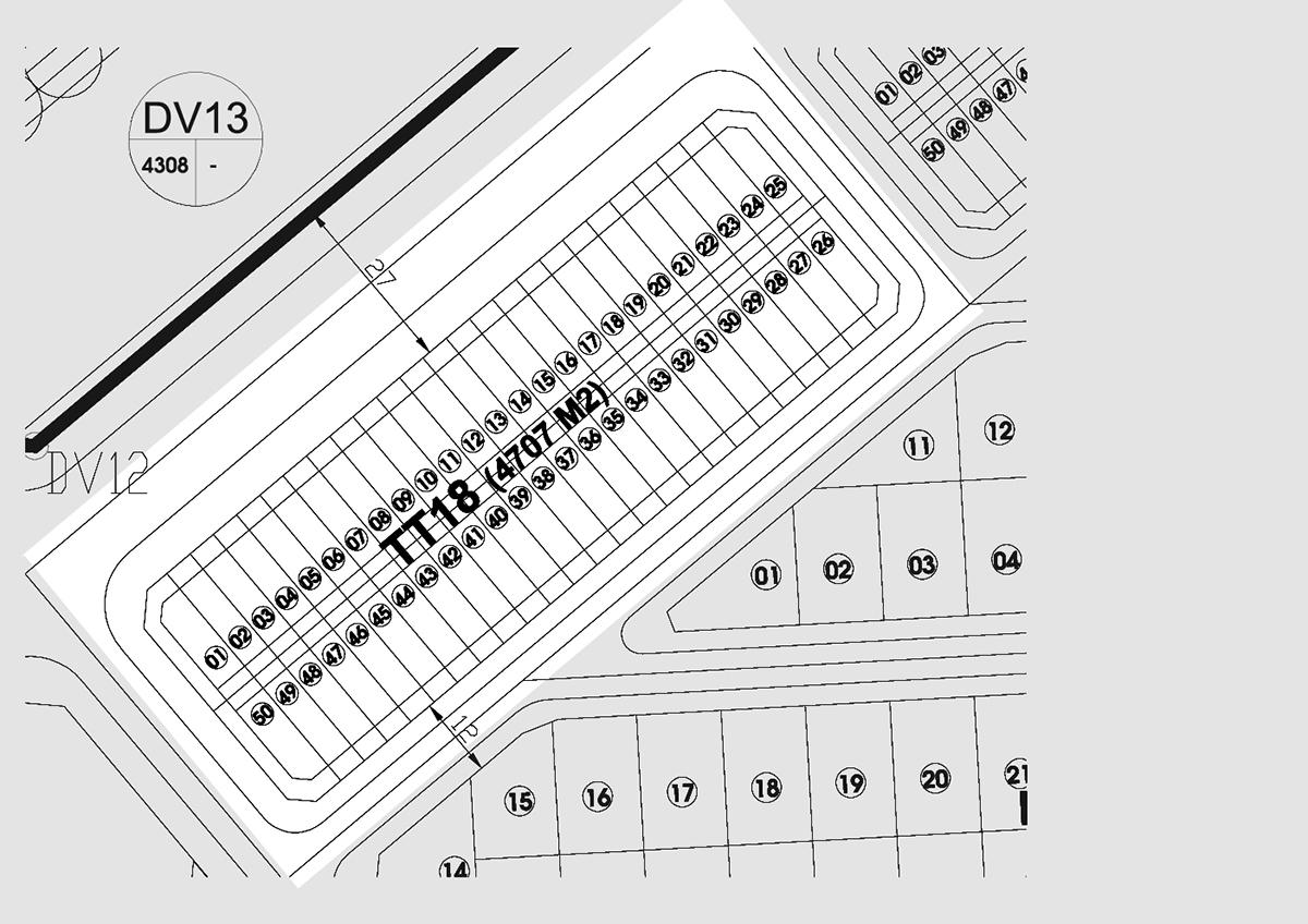 Bán nhà Liền kề phân khu LKCVP lô TT18, mặt đường 27m, nhà hướng Tây - Bắc, Khu đô thị Văn Phú [#H1936.1701]