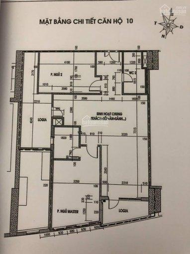 Bán Chung cư 2 phòng ngủ tòa V1, cửa Tây - Bắc ban công Đông - Nam, Chung cư Văn Phú Victoria - Hà Đông - Hà Nội [#H2158.1870]